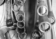 SKiLLed. (WaRMoezenierr.) Tags: skilled handig tools gereedschap schuur herramienta black white zwart wit blanco negro zeeland goes nederland holanda netherlands habil panasonic lumix g80