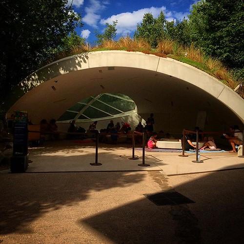 Atelier #BD @quaibranly avec @kfriha dans l'igloo #jardindÉté2018 #tw