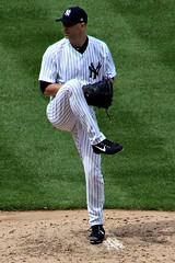 AJ HAPP (MIKECNY) Tags: pitch pitcher mound pinstripes yankees newyork baseball mlb jahapp