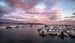 La Spezia (phlickrron) Tags: laspezia cloud sunset boat sea yacht