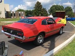 70 Maverick Grabber (Two Sprints) Tags: carshow car show dahlonega july4th
