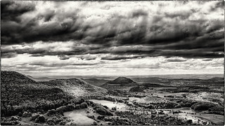 Light in the Valley... (bw version, old style)