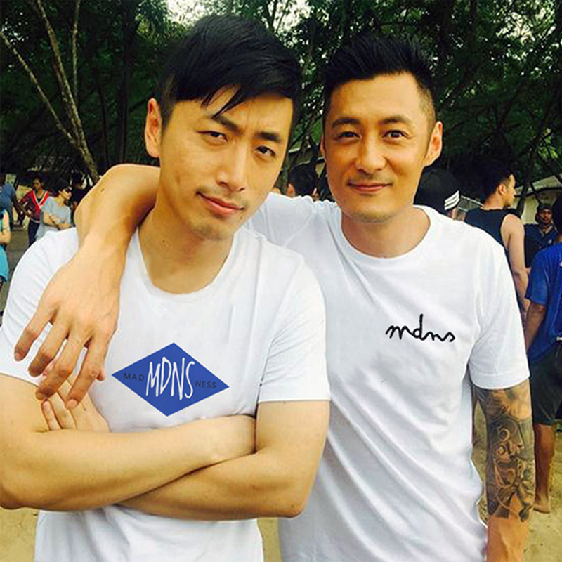 Ins super fire madness Shawn Yue tide brand short sleeved T-shirt mDNS men's half sleeved cotton loose student T-shirt