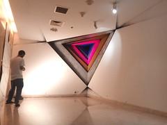 Wall art (emon.vq) Tags: art wallart painting mural corner triangle publicart contemporaryart artwork muhammadzakir dhaka bangladesh