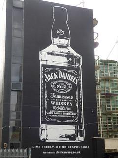 Custard Factory, Digbeth - Jack Daniels Old No. 7 Brand Tennessee Whiskey