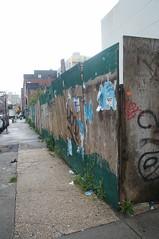 sidewalk (kendradrischler) Tags: sidewalk newyorkcity brooklyn williamsburg