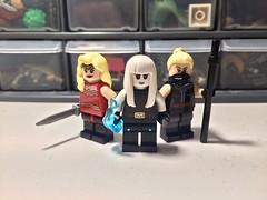 Overlords-verse: The Furies  (read desc) (Sam K Bricks) Tags: the furies wonder woman girl killer frost black siren