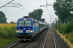 P1660550 (Lumixfan68) Tags: eisenbahn züge loks baureihe 193 drehstromloks mehrsystemloks ell cd tschechische staatsbahn deutsche bahn db ec eurocity porta bohemica elektroloks