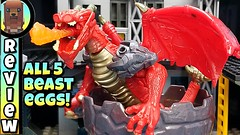ALL 5 Mega Construx BREAKOUT BEAST EGGS Series 1 🔴 Animation Ultimate Review !!! (ChewyBricksTV) Tags: mega construx beasts eggs