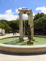 DSC01462 (dottyvdb) Tags: gard nimes placedassas statue sculptures fontaine