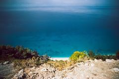 (ニノ Nino) Tags: lefkada greece kodak color plus 200 blue sea ionian summer vacation travel beach sun sunny 35mm 35 mm film analog analogue
