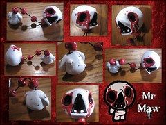 Artist: GrapeFruitPunch (The Binding Of Isaac - Sculptures & Artisan_) Tags: edmundmcmillen thebindingofisaac art game dolls sculpture crafting handmade handicraft