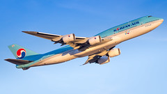 Boeing 747-8B5 HL7636 Korean Air Lines (William Musculus) Tags: fra eddf frankfurtmain frankfurt am main rhein fraport airport flughafen spotting 7478i hl7636 korean air lines boeing 7478b5 2016–2018 visit korea year sticker special livery scheme