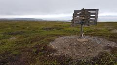Trig point at Basis A (GeirB,) Tags: varanger vadsø vadso varangerfjorden vidde trigpoint bike bikeride basisa outdoor uteliv friskifinnmark liveterbestute arctic 70north lyng norway northernnorway østfinnmark explore