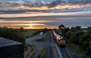 Evening freight