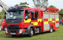 NK18 MHL (Ben Hopson) Tags: northumberland fire rescue service nfrs new volvo fl pump ladder appliance unmakred epump preston park engine rally 2018 999 nk18 mhl nk18mhl
