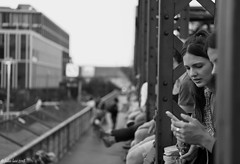 Thoughtful (fabioluisi90) Tags: black white photography thoughts girl hackerbrucke munich germany summer nikon d850 nikkor 2470mm strangers photoshop cameraraw