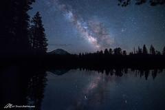 Light from the Volcano (Matt Straite Photography) Tags: stars star night long national nationalpark mountain landscape volcano dark canon tripod