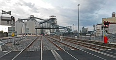 At Drax Power Station (probis pateo) Tags: power electricity container track