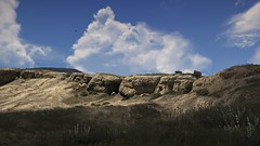 Rugged Landscape   GTAV (Razed-) Tags: rocky hill landscape california cloudy grand theft auto v gtav rockstar games naturalvision remastered rugged