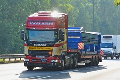 YN64 UNB (panmanstan) Tags: scania r490 wagon truck lorry commercial freight transport haulage vehicle a1m everthorpe yorkshire