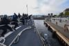 180622-N-FP878-251. (CNE CNA C6F) Tags: usnavy cnecnac6f ussbainbridge ddg96 oslo norway portcall moored kiel germany