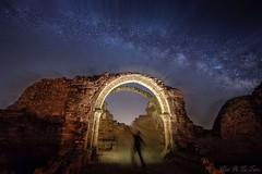 The time traveler (Fotelias1) Tags: espacial viaje last pasado puerta cielo gate sky star traveler