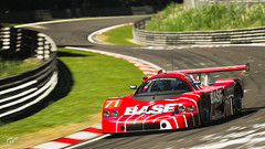 BASF Sauber C9 (m i n i t e k) Tags: mercedes sauber c9 basf rennsport nurburgring nordschleife endurance race track circuit 24h wec