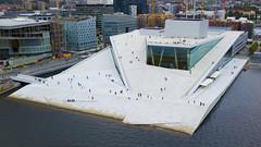 Oslo Opera House (Rune Lind) Tags: oslo opera house operahouse og ballett drone dji luftfoto operaen people airial view folk mennesker ovenfra glass 2018