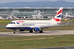 Embraer ERJ -170STD BRITISH AIRWAYS G-LCYI 17000305 Francfort mai 2018 (Thibaud.S.) Tags: embraer erj 170std british airways glcyi 17000305 francfort mai 2018