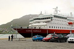 Hurtigruten MS Kong Harald (Brian Aslak) Tags: hurtigruten mskongharald ship tromsø romsa tromssa troms nordnorge arctic norge norway scandinavia europe