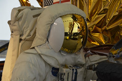 Smithsonian, Washington DC (Paul Cook59) Tags: astronaut smithsonian lunar module space armstrong neil helmet reflection nasa