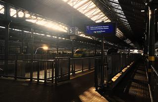 Heuston Station, Dublin, Ireland.