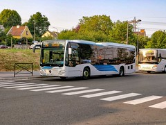 Un C2 LE Ü en attente de départ sur la ligne Albatrans 91.05 (thomas_chaffaut) Tags: idfm albatrans 9105 transessonne keolis meyer mercedesbenz daimlerbus citaro c2 le ü überland lowentry bus autobus transport instatransport gare massy palaiseau idf streetsofourworld kingsvehicles kingstransports tvtransport evobusspain citaroofficial shotononeplus