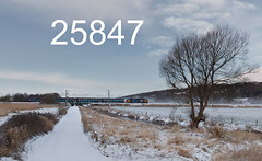 robfrance5d2_25847_280218_x37401_silverdale_2c32_drs_nt_edr16lr6cefx4pse15weblowres (RF_1) Tags: 12csvt 2018 37 37401 arriva bad badweather brel britain british class37 cold coldweather covered cumbria cumbrian cumbriancoast cumbriancoastline db deutschebahn diesel dieselelectric directrailservices drs ee england englishelectric europe european franchise haulage hauling leightonmoss localtrain localtrains loco locomotive locomotivehauled locomotives mark2 mk2 northern northernengland northernrail nucleardecommissioningauthority passengertrain publictransport rail rails railway railways rural silverdale snow snowing stoppingtrain stoppingtrains train trains transport travel traveling uk unitedkingdom weather westmorland white winter