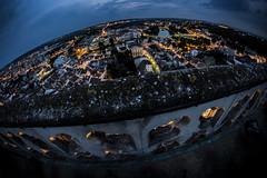My little planet (Marlon_Lima) Tags: planet city fisheyes france longexpousure sky