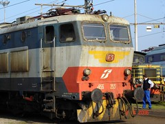 E656 293 CAIMANO (luciano.deruvo) Tags: e656293 caimano e656 fs ferroviedellostato depositolocomotive locomotiva depositomilanosmistamento