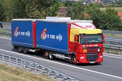 DAF XF 105.410 / Logistic E van Wijk s.r.l. (karl.goessmann) Tags: daf xf105410 evanwijk chiajna romania truck