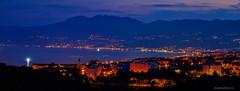Noćni pogled s Veloga Vrha iznad Rijeke (MountMan Photo) Tags: velivrh rijeka primorskogoranska croatia panorama landscape noćnafotografija plavaura