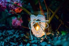 Light (M.patrik) Tags: light candle glass heart love comforting cozy bluehour nature dslr nikon d3300 35mm