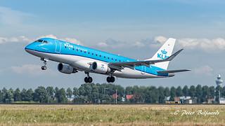 PH-EXG   Embraer ERJ-175STD - KLM Cityhopper