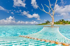 Inspiration (icemanphotos) Tags: beach swing overwater relax calmness paradise getaway canon