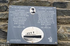 Titanic Memorial, Barmouth Wales (safc1965) Tags: titanic wales walking hiking fairbourne light railway memorial