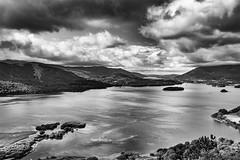 Derwent Water (Mister Oy) Tags: lakedistrict surpriseview derwentwater keswick cumbria mono monochrome blackandwhite lake scenery landscape nikond850 nikon2470mmf28evr