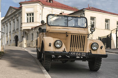 UAZ-69 (GAZ-69). 1953-1956. (Khuroshvili Ilya) Tags: car retro vintage vehicle auto soviet ussr streets roads road wheel rare moscow centre