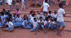 decorations_252classroom (Manohar_Auroville) Tags: auroville sri aurobindo gathering amphitheatre matrimandir bonfire dawnfire birthday manohar luigi fedele