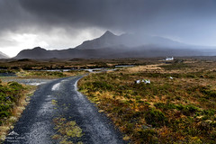 If you can keep your head... (lawrencecornell25) Tags: landscape scenery skye scotland isleofskye mountains hail stormy scenic nature outdoors weather nikond5