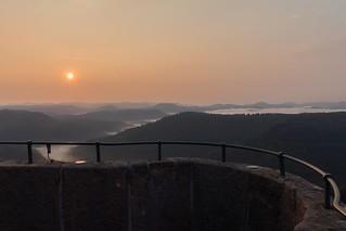 Sonnenaufgang Luitpoldturm