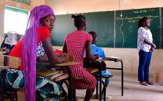 Senegal- school near Kedougou