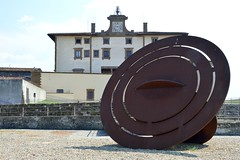 GONG - Eliseo Mattiacci (carlogalletti) Tags: mattiacci firenze forte belvedere san miniato florence italia italy panorama labirinto scultura moderna arte